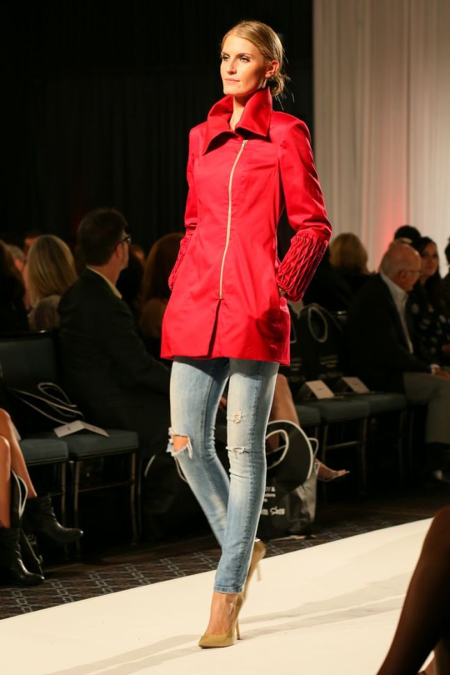Red Rain wear by Taylor Armstrong